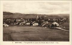 Mouthe Vue Generale et Source du Doubs dans le Fons - Mouthe