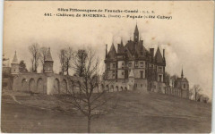 Cubry Chateau de Bournel - Facade - Cote Cubry - Cubry