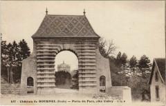 Cubry Chateau de Bournel - Porte du Parc - Cote Cubry - Cubry