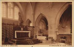Chaux-les-Passavant Notre-Dame de la Grace-Dieu - Le Sanctuaire - Chaux-lès-Passavant