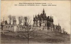Chateau de Bournel - Facade - Cote Cubry 25 Cubry