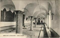 Chaux-les-Passavant Abbaye de la Grace-Dieu - Salle du Chapitre - Chaux-lès-Passavant