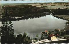 Montperreux Le Lac Saint-Point vu des Pentes de Montperreux - Montperreux