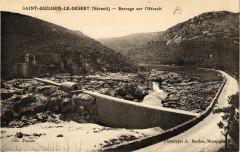 Saint-Guilhem-le-Desert Barrage sur l'Herault - Saint-Guilhem-le-Désert