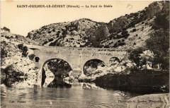 Saint-Guilhem-le-Desert Le Pont du Diable - Saint-Guilhem-le-Désert