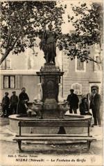 Nizas La Fontaine du Griffe - Nizas