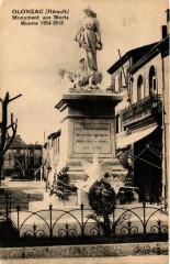 Olonzac Monument aux Morts - Olonzac
