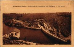 Le Barrage des Chaumettes pres Liginiac - Cote Amont - Liginiac
