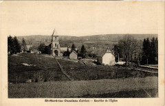 Saint-Merd-les-Oussines - Quartier de l'Eglise - Saint-Merd-les-Oussines