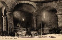 Saint-Bonnet-la-Riviere - Eglise Romane - L'interieur - Saint-Bonnet-la-Rivière