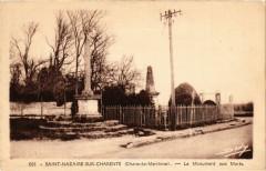 Saint-Nazaire sur Charente - Le Monment aux Morts - Saint-Nazaire-sur-Charente
