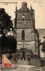 Saint-Fort sur Gironde. Eglise - Saint-Fort-sur-Gironde