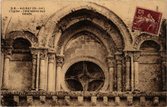 Aulnay L'Eglise. Cote lateral sud Détails - Aulnay