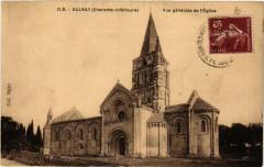 Aulnay Vue générale de l'Eglise - Aulnay
