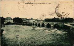Chabanais - Pont et barrage de la Vienne - Chabanais