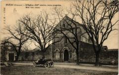 Fleac - L'Eglise (Xii siecle) trois coupoles (Mon.hist - Fléac