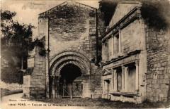 Pons - Facade de la Chapelle Saint-Gilles - La Chapelle