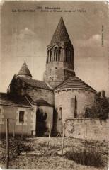 Charente - La Couronne - Abside et Clocher roman de l'Eglise - La Couronne