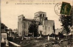 Nanclars - L'Eglise du Xi siecle (Mon.Hist.classe) - Nanclars