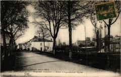 Dignac - Route d'Angouleme et l'Eglise - Dignac