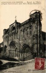 Aubeterre-sur-Dronne Portail de l'Eglise collegiale Saint-Jacques - Aubeterre-sur-Dronne