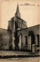 Mornac - L'Eglise en partie du Xi siecle - Mornac