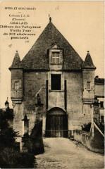 Charente Chalais Chateau des Talleyrand Vieille Tour du Xii-sur- - Chalais