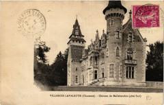 Villebois-Lavalette - Chateau de Malleberchie (cote Sud) - Villebois-Lavalette