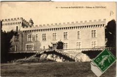 Env. de Barbezieux - Chateau de Touverac - Touvérac