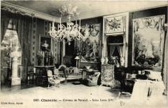 Charente - Chateau de Verneuil - Salon Louis Xvi - Verneuil