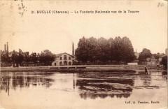 Ruelle - La Fonderie Nationale vue de la Touvre - Touvre