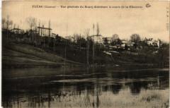 Fleac - Vue générale du Bourg dominant le cours de la - Fléac
