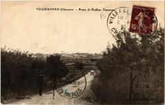 Villefagnan - Route de Ruffer. Panorama - Villefagnan