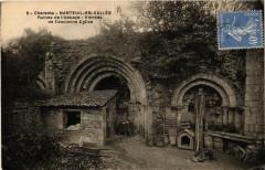 Charente - Nanteuil-en-Vallee - Ruines de l'Abbaye - Entrées - Nanteuil-en-Vallée