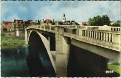 Lesigny Vue générale Le Pont sur la Creuse - Lésigny