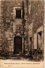 Port-de-Piles - Maison d'Eléonore d'Aquitaine - Port-de-Piles