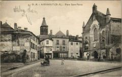 Airvault Place Saint-Pierre Eglise - Airvault