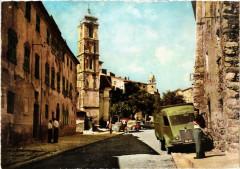 Corse Speloncato - Rue Principale et l'Eglise - Speloncato