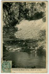 Jura Foncine-le-Haut Source de la Saine - Foncine-le-Haut