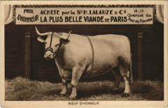 Boeuf d'Honneur - Paris 19e
