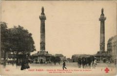 Cours de Vincennes à la Place de la Nation - Les Colonnes du Trône - Paris 12e