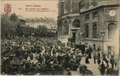 Un matin aux Halles - A la Pointe Saint-Eustache - Paris 1er
