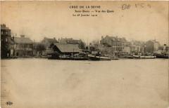 Crue de la Seine - Saint-Denis - Vue des Quais - Le 28 Janvier 1910 93 Saint-Denis
