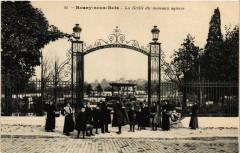 Rosny-sous-Bois - La Grille du nouveau square 93 Rosny-sous-Bois