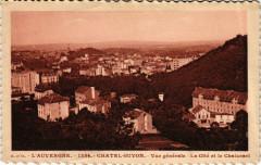 Chatel-Guyon Vue generale La Cité et le Chalusset - Chalus