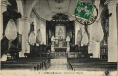 Villers-Faucon Intérieur de l'Eglise - Villers-Faucon