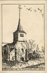 Guerre Flaucourt Dorfkirche - Flaucourt