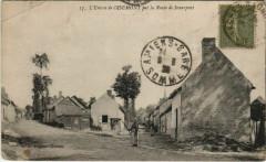 Oisemont Entrée par la Route de Senarpont - Oisemont
