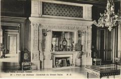 Pau Le Chateau ,Cheminee du Gand Salon France - Gan