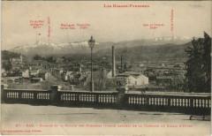 Pau Bizanos et la Chaine des Pyrenees France - Anos